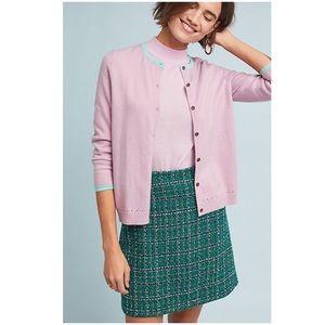 Anthropologie Darlene Knit Cardigan Sweater NWT S